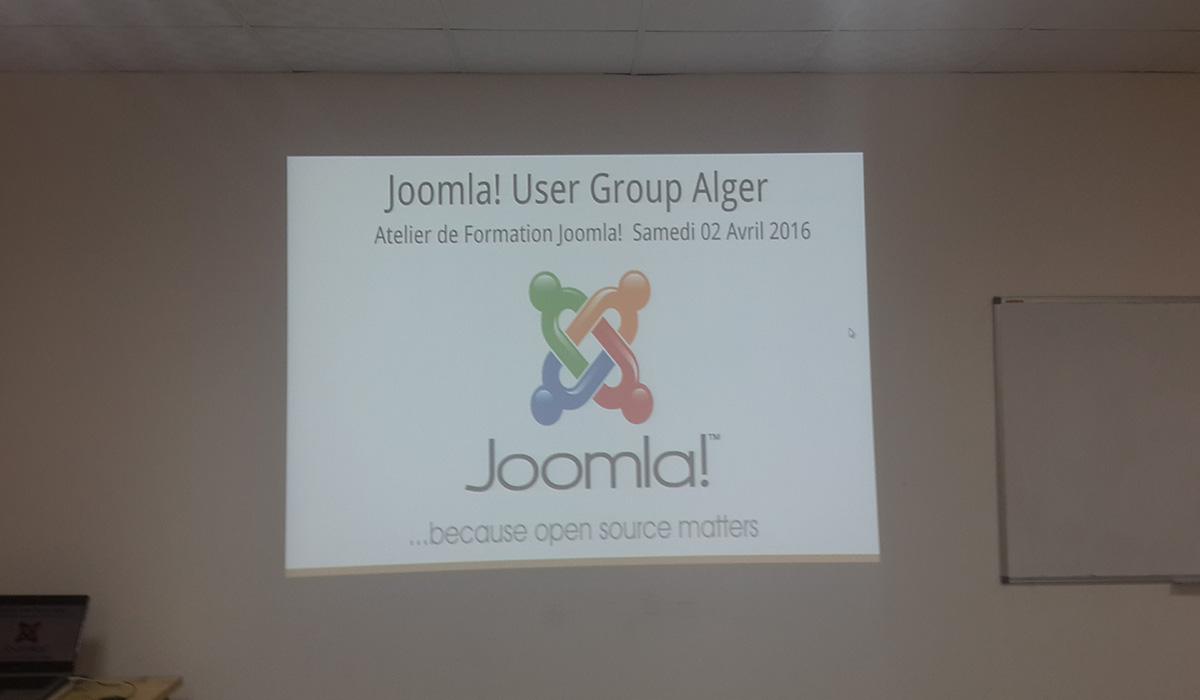 Atelier de formation Joomla! Alger