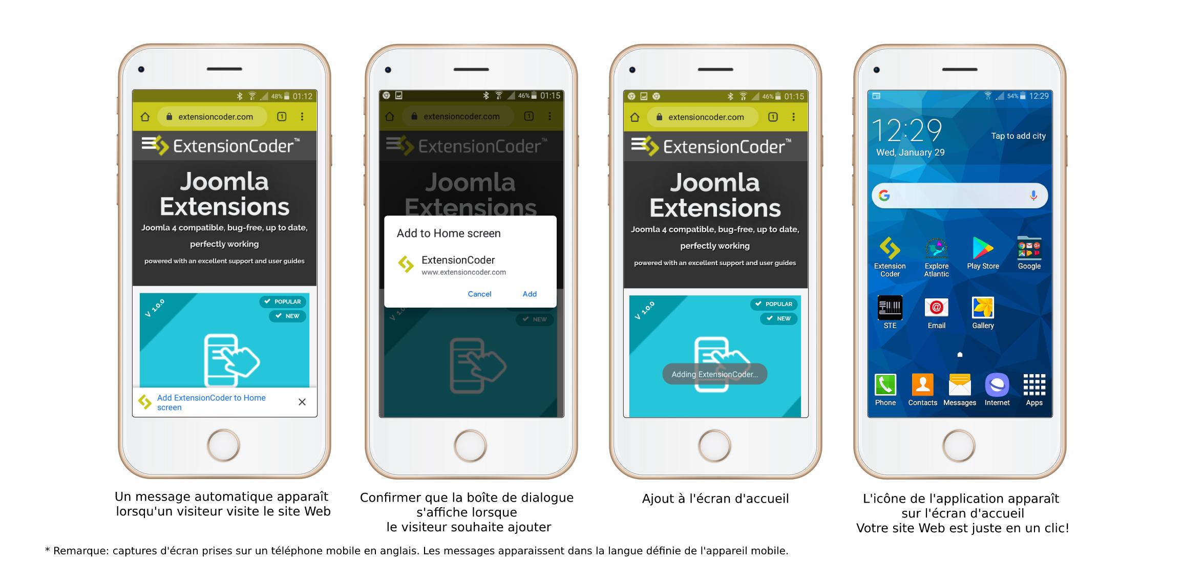 Joomla Extensions- Progressive Web App
